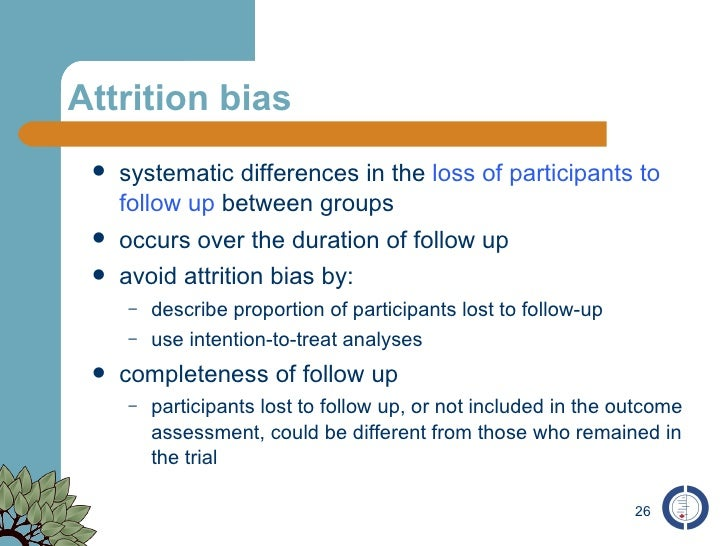 Assessment Of Bias