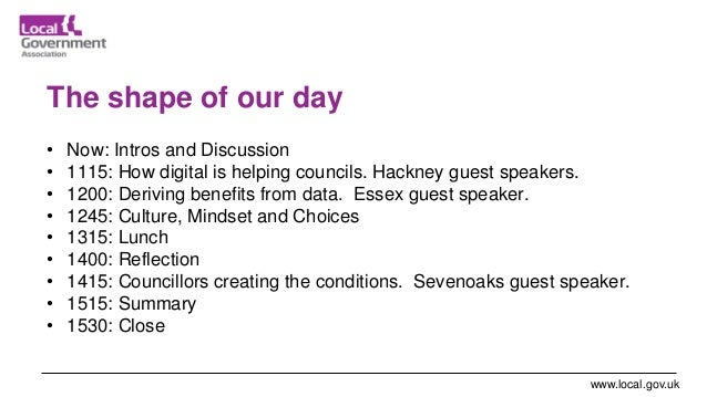 London data and digital masterclass for councillors slides 14-Feb-20 Slide 3