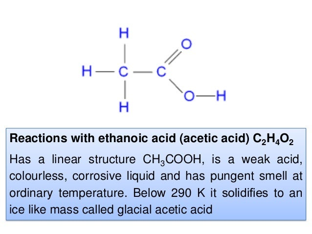 ethanoic acid advantages Research shows acetic acid acetic acid in vinegar kills mesothelioma cells yet modern scientists remain skeptical of these storied medicinal benefits.