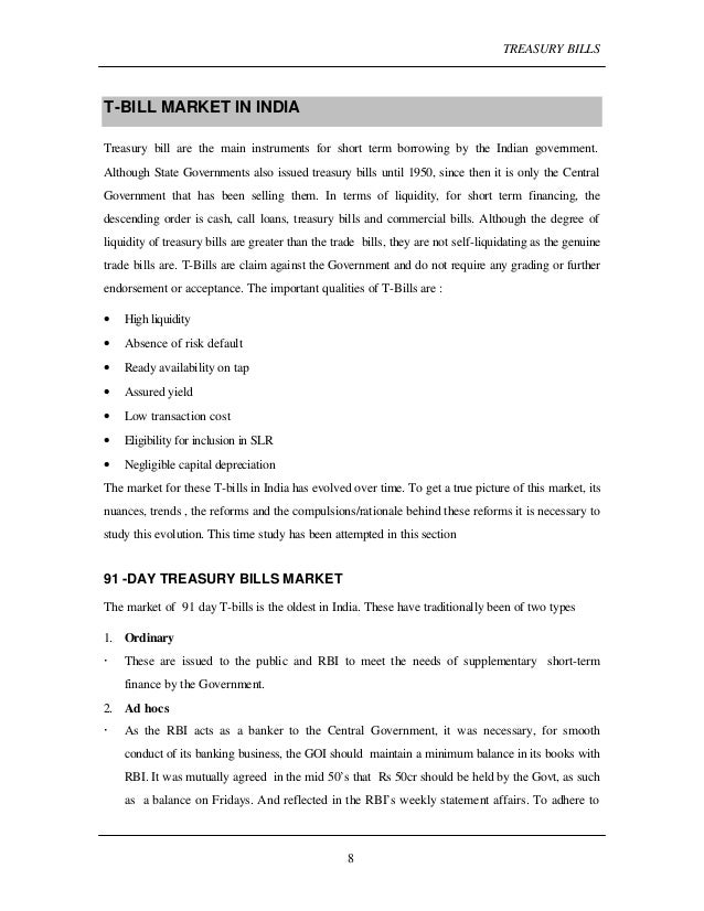 essay on treasury bills Treasury essays: over 180,000 treasury essays, treasury term papers, treasury research paper, book reports 184 990 essays, term and research papers.