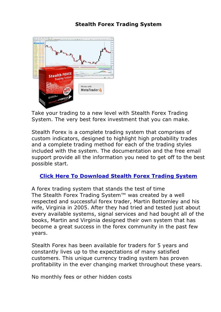 Forex system that really works