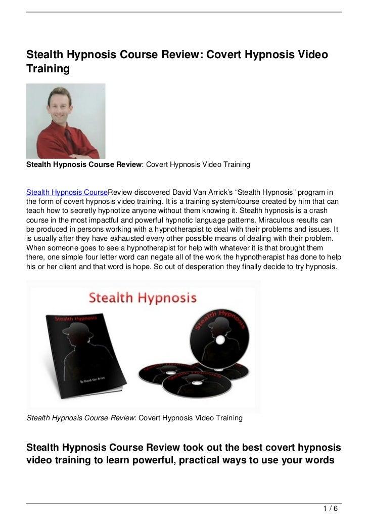 COVERT HYPNOSIS PDF