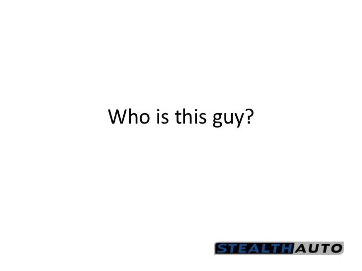 Who is this guy?<br />