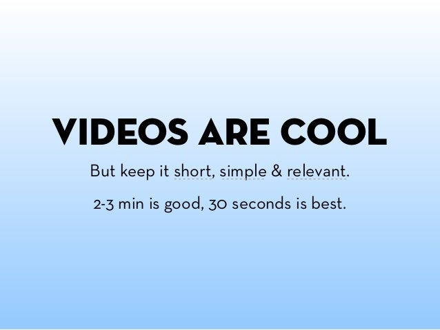and save yourself from the awkward silence and always preload your videos.