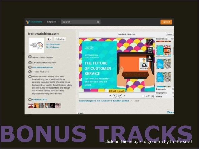 BONUS TRACKS click on the image to go directly to the site!