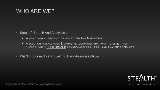 How to Use Data to Grow Your Agency Slide 2