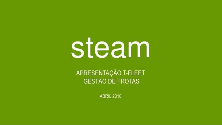 Steam - Apresentação Gestão de frotas