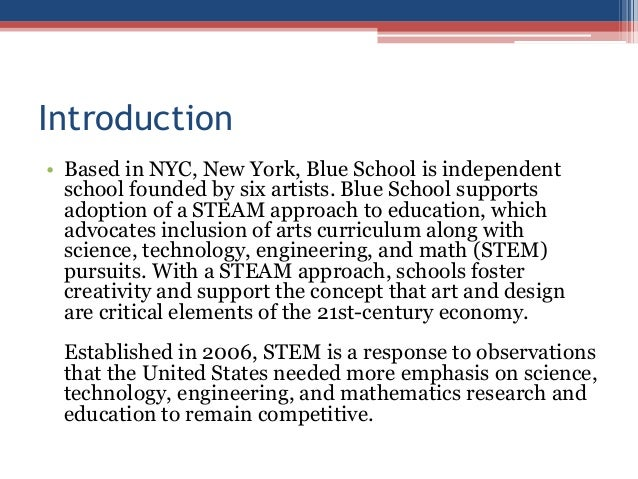 """role of art and design education The presence of art in a curriculum is beneficial for students and for society as a whole these benefits are evident in the average increase in other areas' test scores by students with art education, failed programs which lower focus on the arts, and in the """"levelling of the playing field ."""