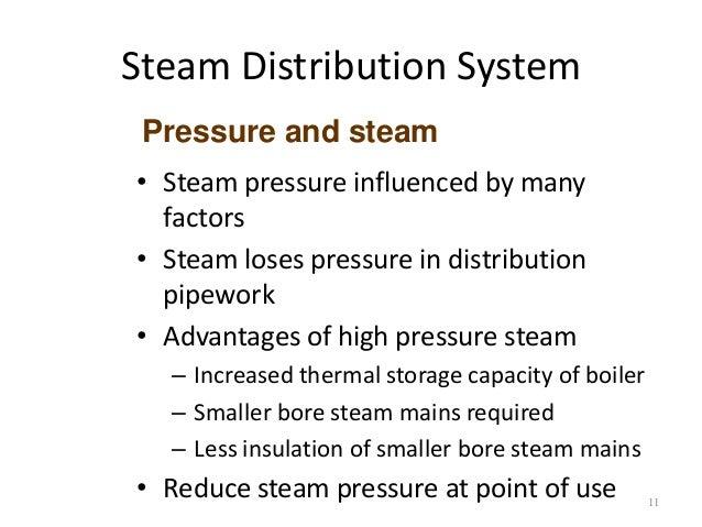 Steam Distribution System Utilization And Design