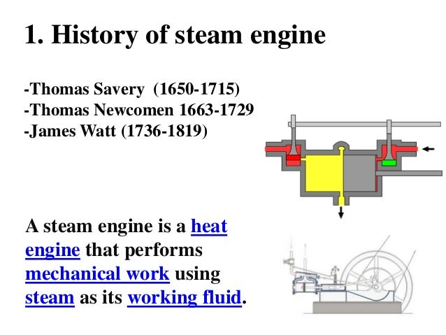 the history and evolution of steam engines Industrial history: the history of the steam engine the history of steam engines dates back to the 1st century ad when the aeolipile was described by the hero.