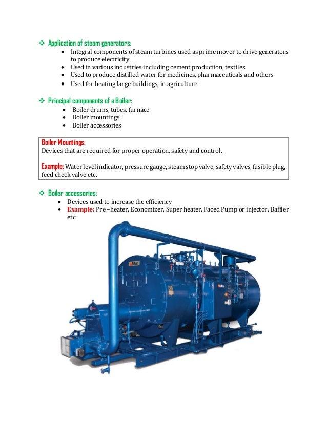 Steam generating unit