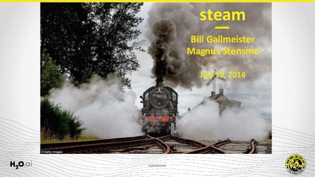 CONFIDENTIAL Bill Gallmeister Magnus Stensmo July 19, 2016 steam