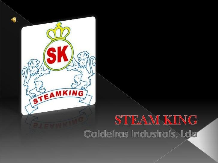 STEAM KING  Caldeiras Industrais, Lda<br />