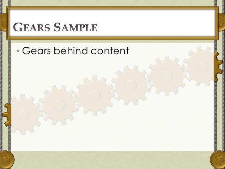 Steampunk powerpoint 2010 template toneelgroepblik Image collections