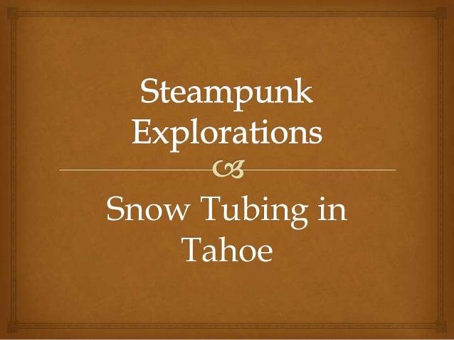 Snow Tubing in Tahoe
