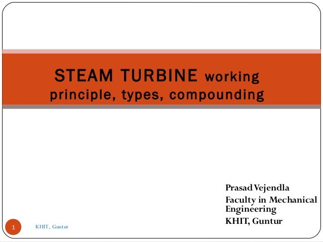 Steam turbine, Impulse and Reaction turbine working principle,Compoun…