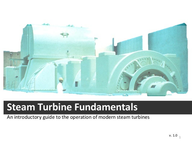 Steam Turbine Fundamentals