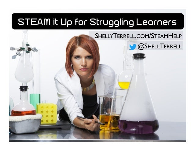 SHELLYTERRELL.COM/STEAMHELP @SHELLTERRELL STEAM it Up for Struggling Learners