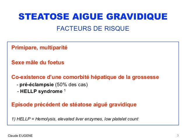 Steatose aigue gravidique Slide 3