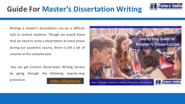 Masters dissertation services how many words