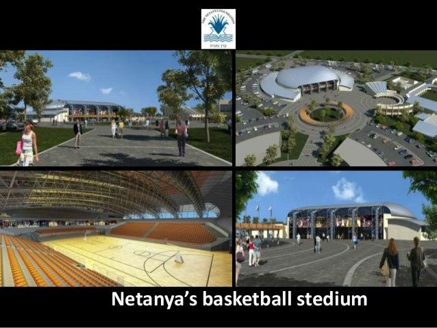 Netanya's basketball stedium
