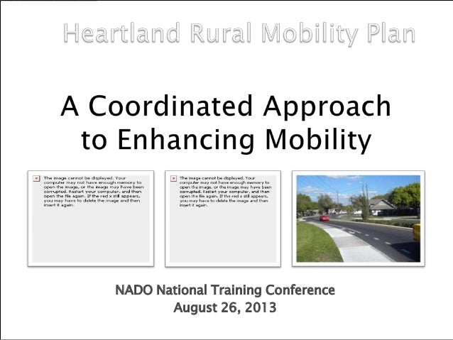 NADO National Training Conference August 26, 2013