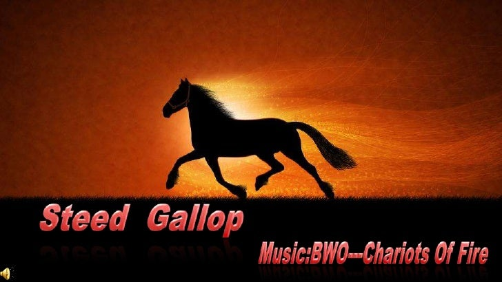 Steed  Gallop <br />Music:BWO---Chariots Of Fire <br />