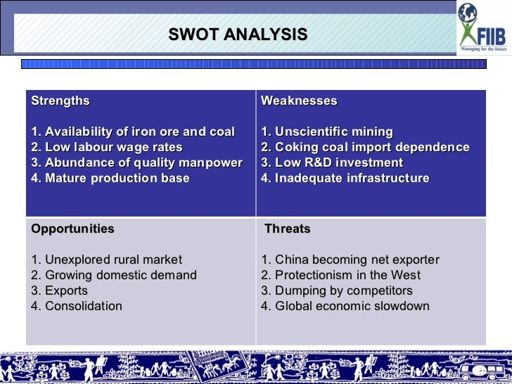 pestle analysis of indian steel industry Keywords: pestle analysis tidal industry risk identification open access renewables such as wind power and in order for the industry to be a success, potential investors must be continually turbines, unlike in wind energy where turbines are mostly two or three bladed on a steel or concrete tower.