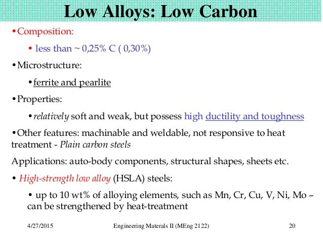 LOW CARBON STEEL APPLICATIONS PDF DOWNLOAD