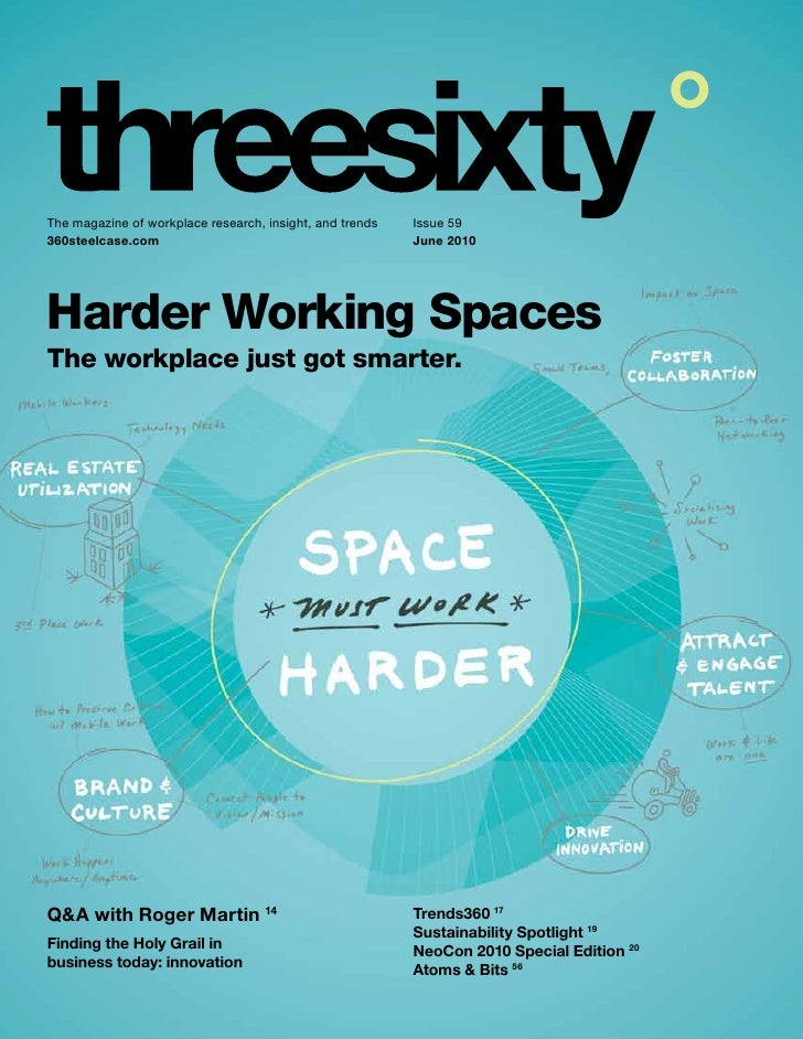 The magazine of workplace research, insight, and trends   Issue 59 360steelcase.com                                       ...
