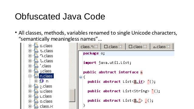 Steelcon 2015 Reverse-Engineering Obfuscated Android