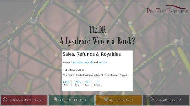TL;DR A Lysdexic Wrote a Book?