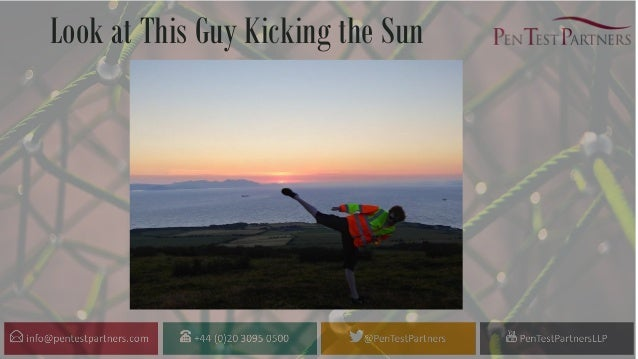 Look at This Guy Kicking the Sun