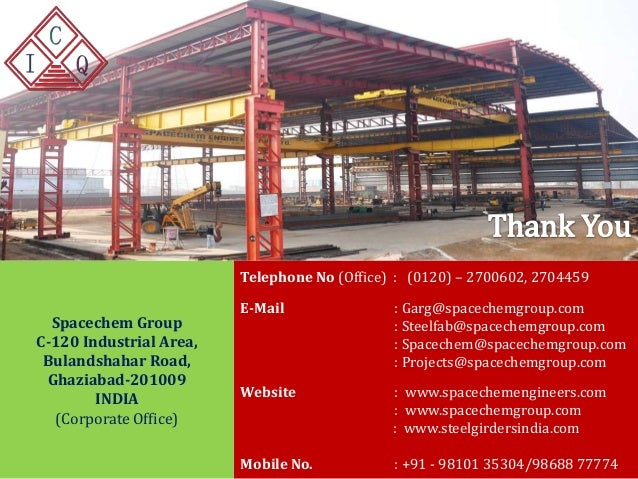 Shree Cement Ltd Mail : Steel fabricated beams boxes girders approved by rdso