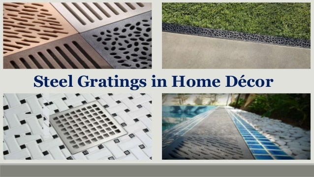 Steel Gratings For Home Decors In Uae