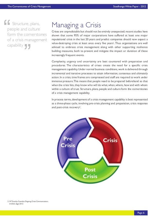 management essay crisis management essay