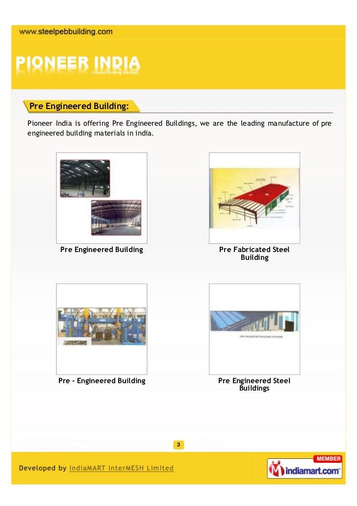 Pioneer India, Faridabad, Steel Buildings Slide 3