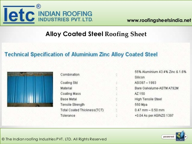 Steel Roofing Sheets Manufacturer From Coimbatore