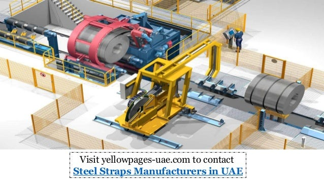 Steel Straps Manufacturers In Uae