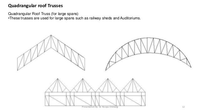 12 roof trusses