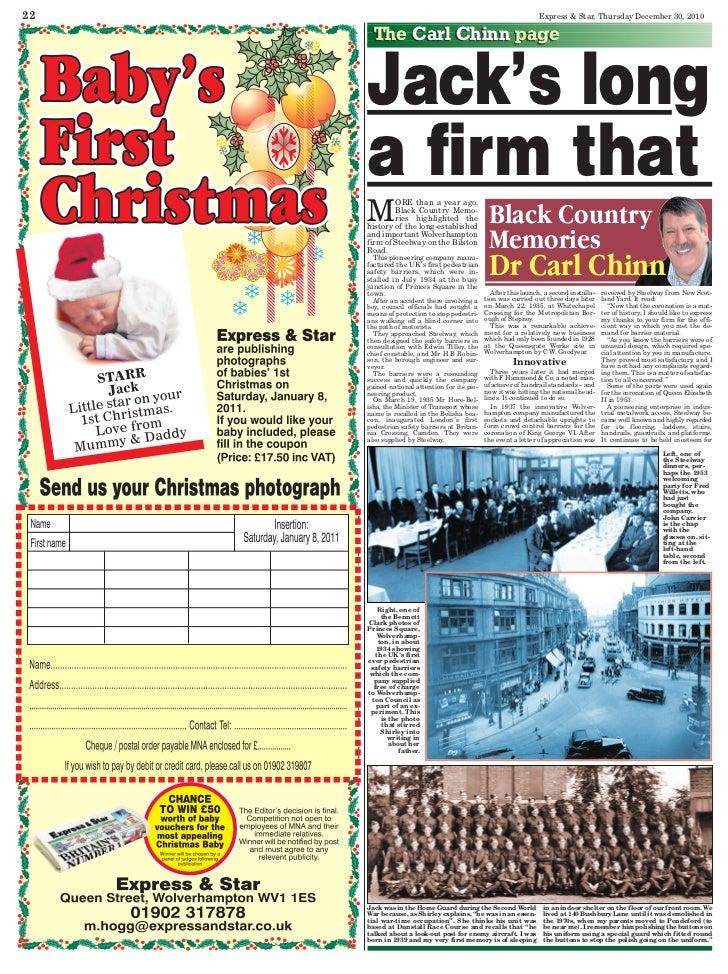 22                                                               Express & Star, Thursday December 30, 2010       The Carl...