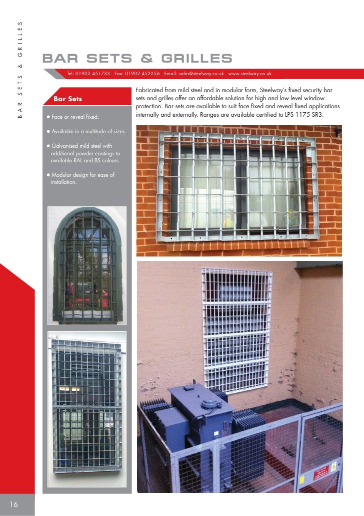 15; 16.  sc 1 st  SlideShare & Steelway Utility Services Product brochure