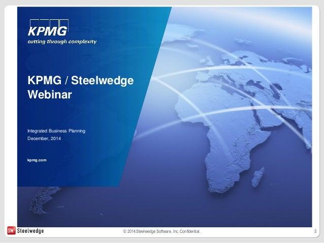 integrated business planning kpmg