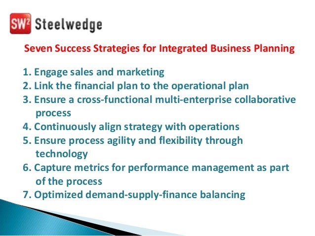 integrated business planning best practices