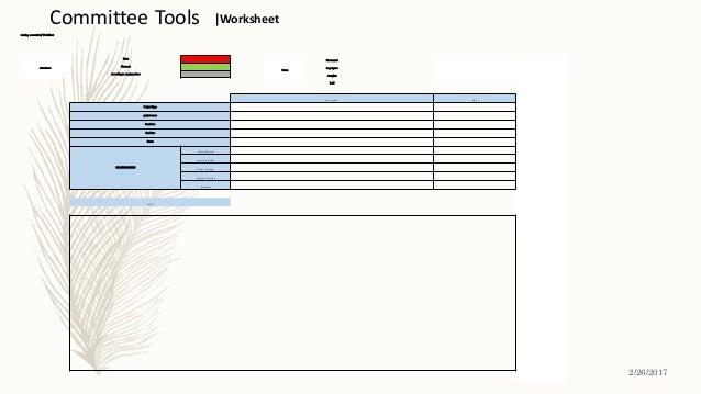 steering committee| Worksheet Attendance Must Status Notstarted Mustnot inprogress Accordingto employeetime complete hold ...