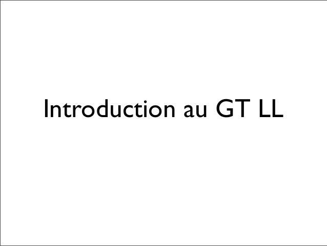 Open Cloud Computing @ GTLL Slide 2