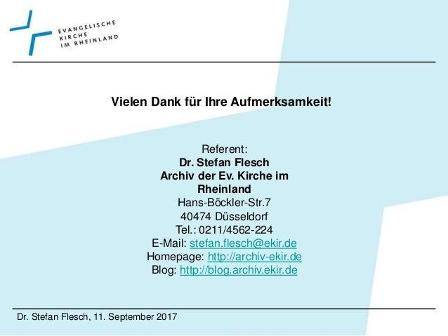 """Stefan Flesch: """"Mann muss auch jönne könne"""""""