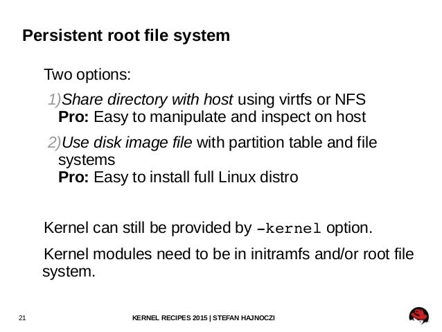 Kernel Recipes 2015: Speed up your kernel development cycle