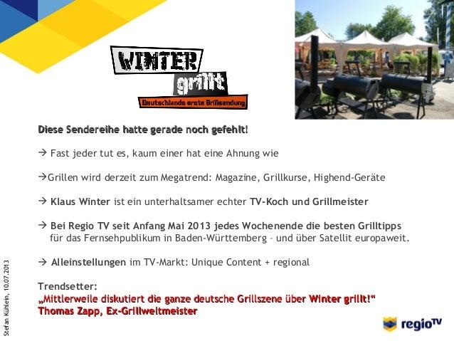 Stefan Kühlein: Winter grill! Slide 2