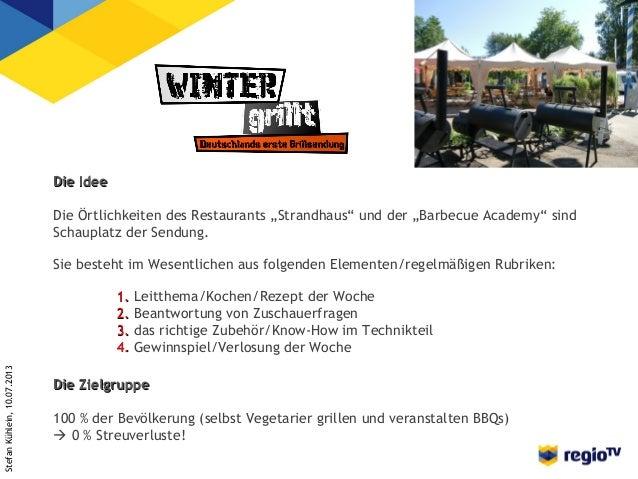 Stefan Kühlein: Winter grill! Slide 3